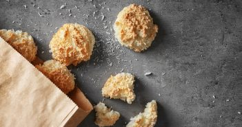Easy Mini Coconut Macaroons Recipe (naturally dairy-free, gluten-free, nut-free and soy-free!)