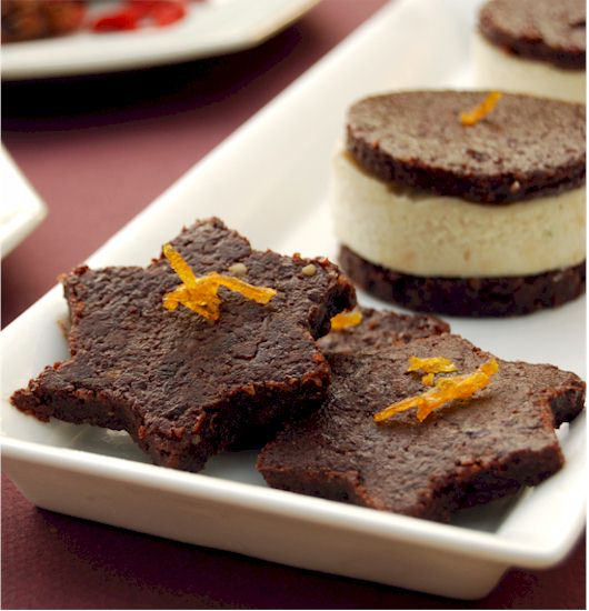 Ani's Carob Walnut Cookies from Ani's Raw Food Desserts