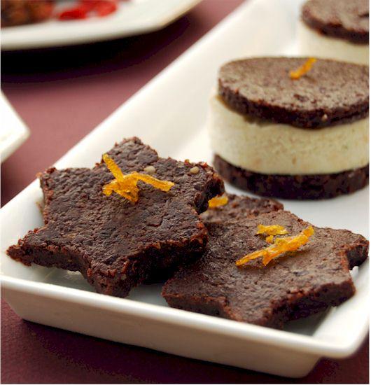 Ani's Carob Walnut Cookies from Ani's Raw Food Desserts