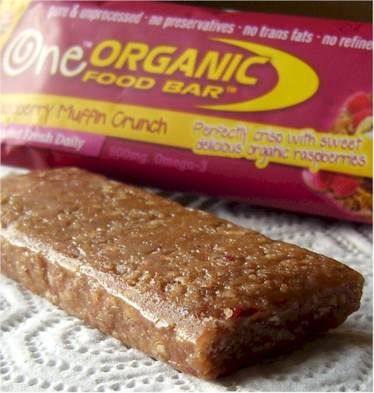One Organic Food Bar - Raspberry Muffin Crunch