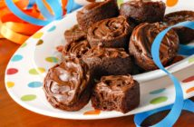 Allergy-Friendly Brownie Bites Recipe - Dairy-Free, Egg-Free, Gluten-Free (wheat option), Nut-Free, Soy-Free, and Vegan-Friendly! Optionally frosted.