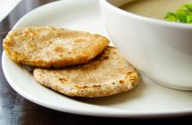 Dairy-Free Aloo Paratha Recipe (Indian Potato-Stuffed Flatbreads). Vegan, filling, and delicious for breakfast, lunch, or a snack!
