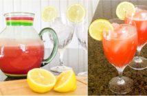 Sweet-Tart Watermelon Lemonade Recipe and Icy Watermelon Cubes