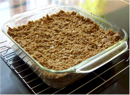 Crumbly Maple Apple Crisp - Simple dairy-free, vegan, and nut-free dessert