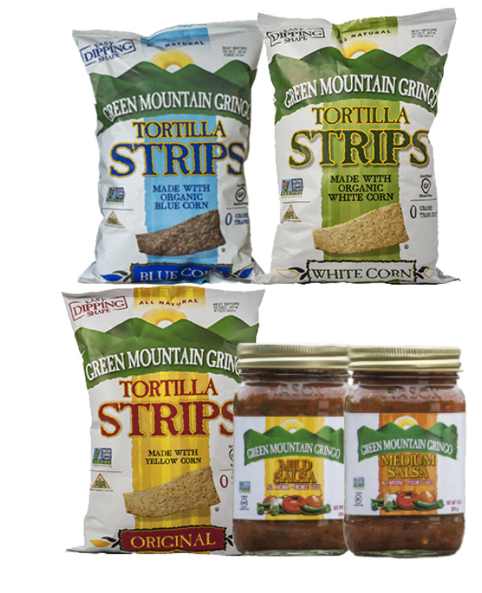 Green Mountain Gringo Tortilla Strips