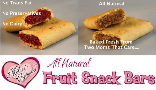 Mother's Cupboard Dairy-Free Fruit Snack Bars