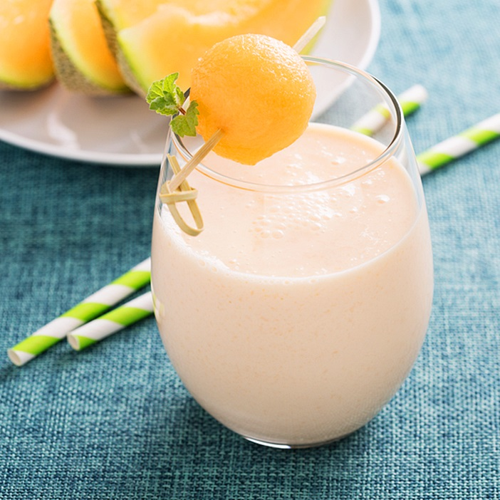Creamy Cantaloupe Smoothie Recipe Dairy Free Or you can let the surprisingly versatile fruit really shine. creamy cantaloupe smoothie