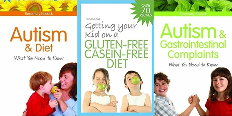 Review of Three Books on the Autism Diet - Gluten-free, Casein-free Diet