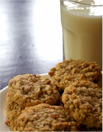 Hearty Dairy-Free Oatmeal Energy Cookies Recipe