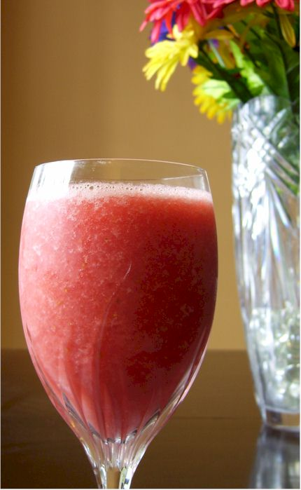 Strawberry-Watermelon Soul Smoothie - The Perfect Dairy-Free, Vegan, Nut-Free Summer Drink