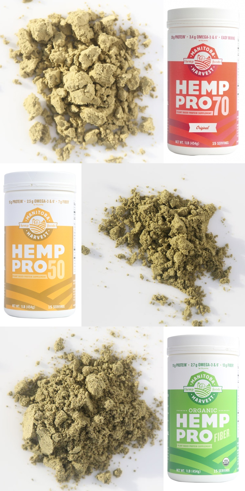 Manitoba Harvest Hemp Protein Powders (Review) - several varieties, all dairy-free and vegan, some organic and flavored