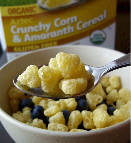 Aztec Organic Crunchy Corn & Amaranth Cereal - Gluten-Free