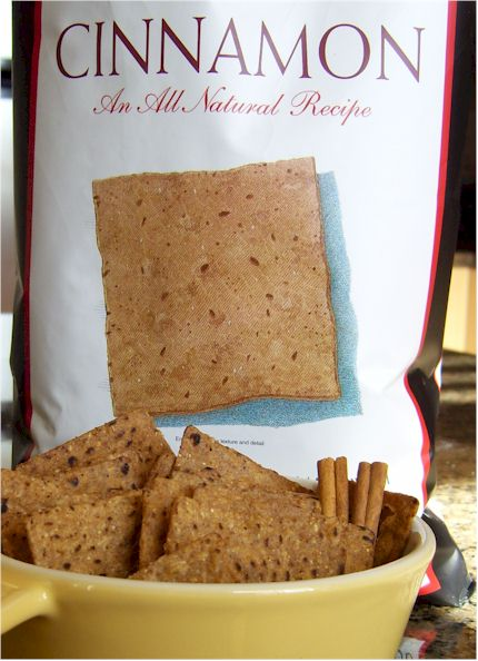 Food Should Taste Good New Tortilla Chip Flavors - Cinnamon