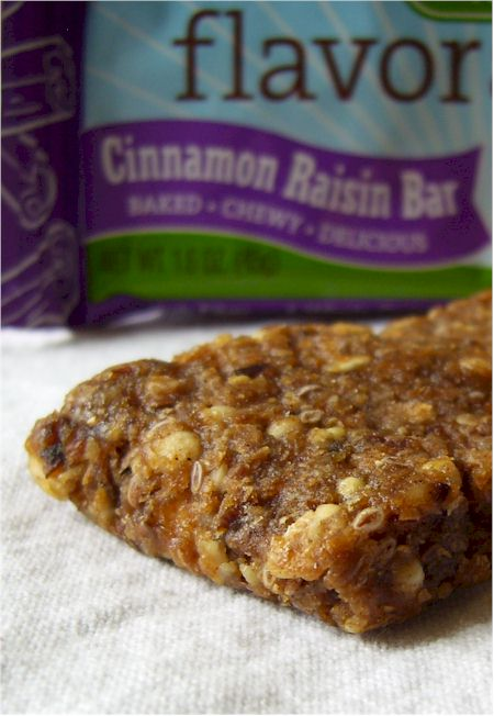 Gnu Bars - Cinnamon Raisin Flavor