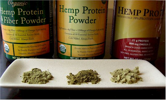 Manitoba Harvest Hemp Protein Powders