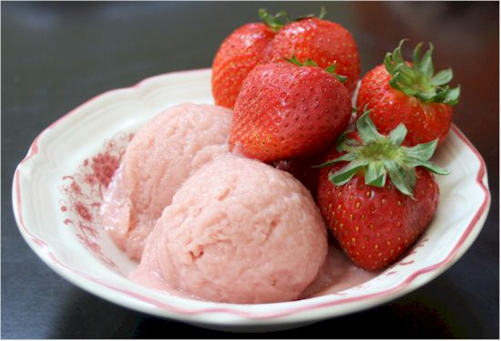 Nasoya Strawberry Silken Creations Ice Cream