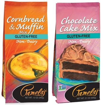 Gluten-Free Pamela's Baking Mixes (Review of the Dairy-Free versions)