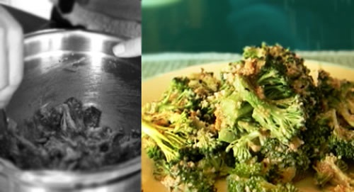 Raw Vegan Cheesy Broccoli Bowl Recipe