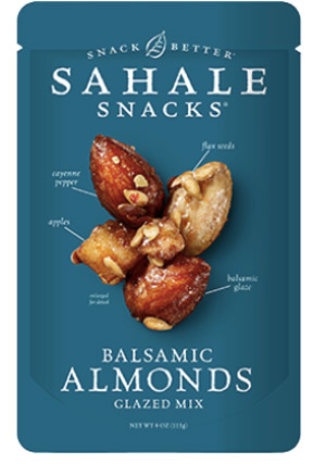 Sahale Snacks Glazed Nuts - these tasty and unique nut blends are a delicious healthy dairy-free snack!