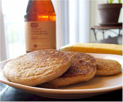 Fruited Spelt Pancakes - dairy-free, vegan, wholesome