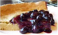 Dairy-Free / Gluten-Free Blueberry Dutch Baby