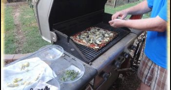 Grilled Vegan Pizza - Cheese-Free, Dairy-Free