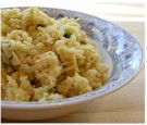"Cauliflower ""Risotto"" - Dairy-Free, Grain-Free, and Vegan"
