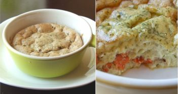Healthy, Dairy-Free Smoked Salmon Quiche