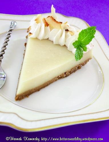 Kefir Vegan Cheesecake (with probiotics!)