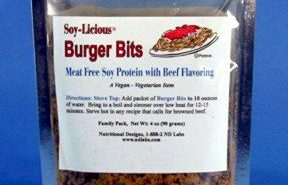 Meatless Burger Bits from ND Labs