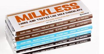 No Whey Milkless Chocolate Bars Review (Dark, Milk and White varieties) - vegan, dairy-free, top allergen-free