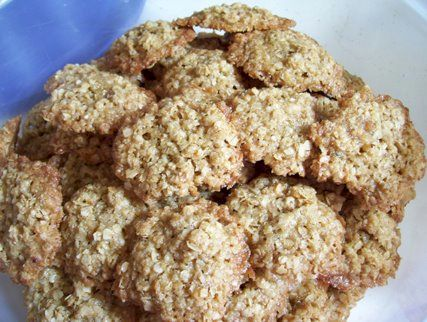 Dairy-Free, Nut-free, Soy-Free Overnight Oatmeal Cookies