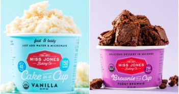 Dairy-Free Miss Jones Dessert Cups Reviews and Info - just add water and microwave instructions.