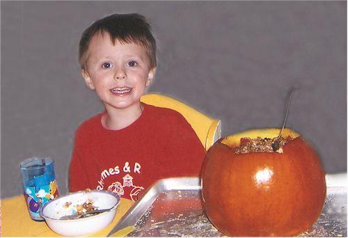 Pumpkin Surprise Food Allergy Friendly Meal