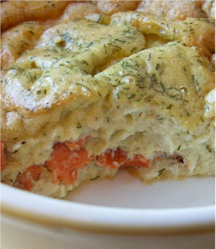 Dairy-Free Smoked Salmon Crustless Quiche - Grain-Free.