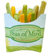 Peas of Mind Veggie Wedgies - Allergen-Free