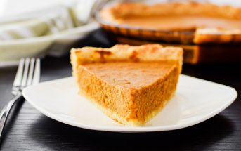 The Best Dairy-Free Soy-Free Pumpkin Pie Recipe - Period.