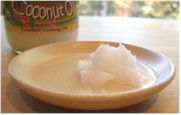 Artisana Raw Organic Coconut Oil - partially melted