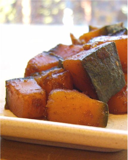 Quick Asian-Spiced Kabocha
