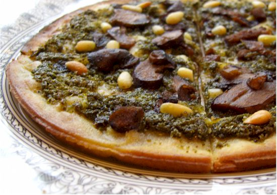 Clean Cravings Pesto Pizza - Dairy-Free, Gluten-Free
