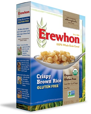 Erewhon Organic Cereals - pure, simple basics made with whole grains (gluten-free, dairy-free)
