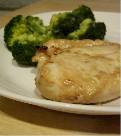 Honey Mustard Chicken from Garden of Eating