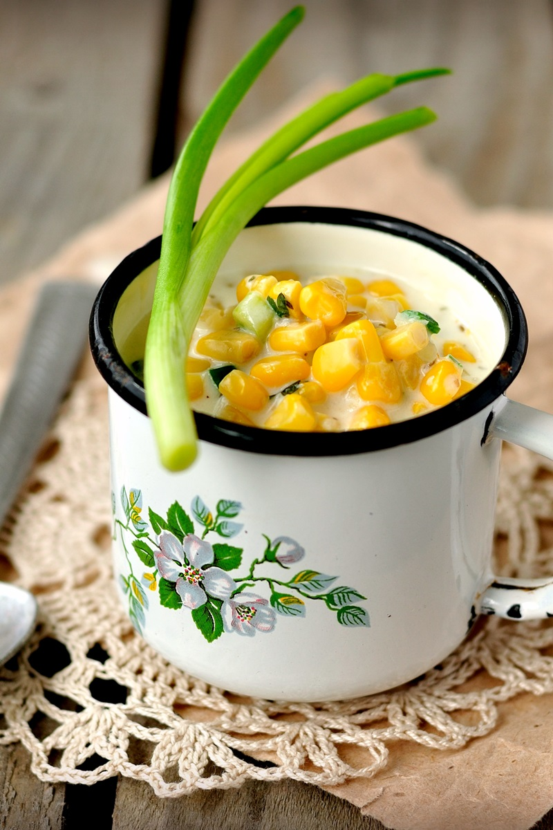Non-Dairy Corn Chowder Recipe to Feed a Crowd (also vegan, gluten-free & nut-free)