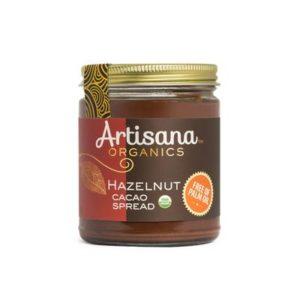 Artisana Organics Cacao Spreads Review (dairy-free, gluten-free, soy-free, vegan). Pictured: Cacao Hazelnut