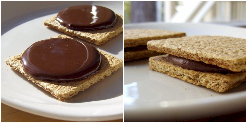 Artisana Organics Cacao Spreads Review (dairy-free, gluten-free, soy-free, vegan). Pictured: Chocolate Graham Sandwiches