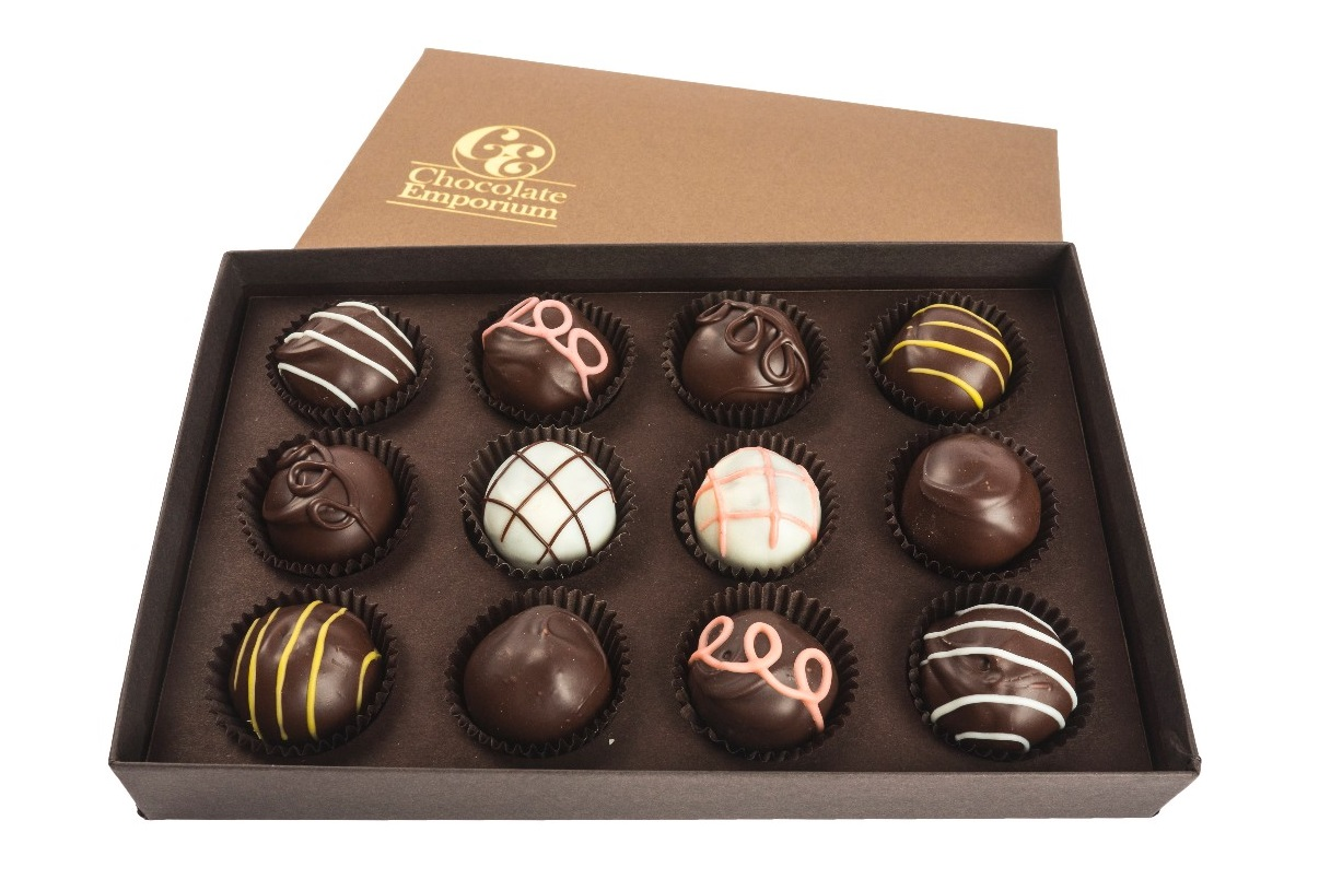 Chocolate Emporium Chocolate Confections Reviews and Info - Dairy-Free, Gluten-Free, Kosher Truffles, Bars, Barks, Lollipops, and Holiday Chocolates