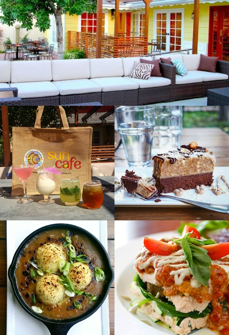 SunCafe Organic Cuisine in Studio City, CA for Raw, Vegan Comfort Food
