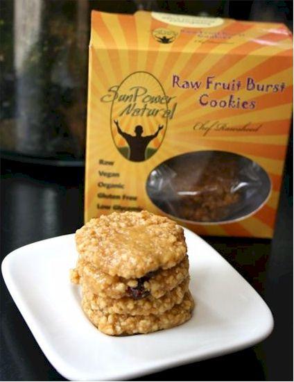 SunPower Natural Raw Cookies