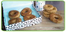 Peas of Mind Vegan Sweet Potato Donuts