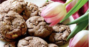 Vegan Fudgy Chocolate Chip Cookies